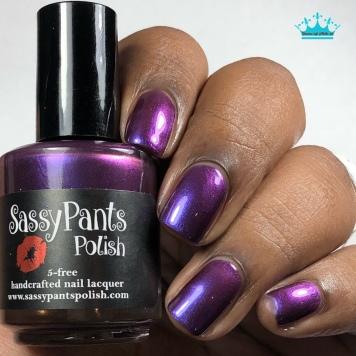 "Sassy Pants Polish - ""Love to Give"" - w/ glossy tc"