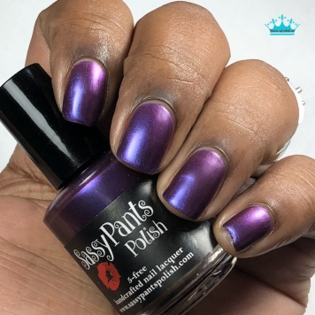 "Sassy Pants Polish - ""Love to Give"" - w/ matte tc"
