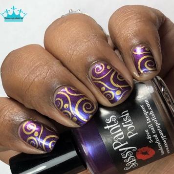 """Sassy Pants Polish - """"Love to Give"""" - w/ nail art"""