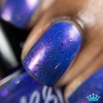 Sassy Sauce Polish - Diamonds & Drag - macro