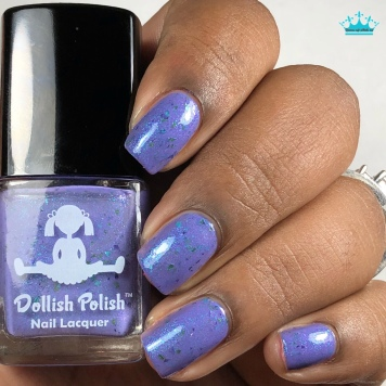 Dollish Polish - Enchanted Fairy - w/ glossy tc