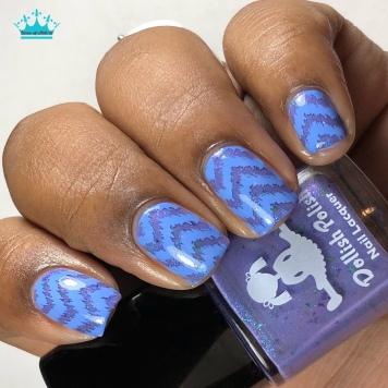 Dollish Polish - Enchanted Fairy - w/ nail art