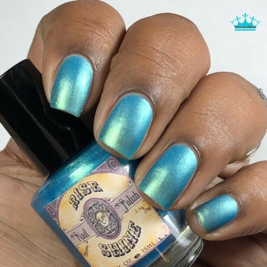 Rise and Shine Nail Polish - Wishes and Tears - w/ matte tc