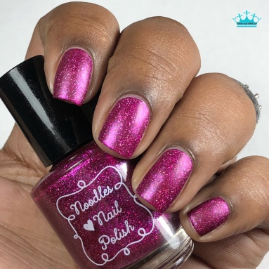 Noodles Nail Polish - Enchanted Love - w/ matte tc