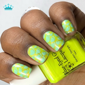 East ATL Rainbow - w/ nail art