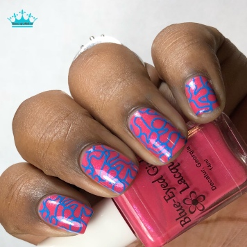 Psychedelic Whisky - w/ nail art