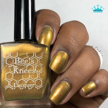 Bee's Knees Lacquer - Would You Kindly - w/ glossy tc
