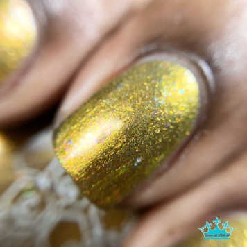 Bee's Knees Lacquer - Would You Kindly - macro