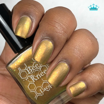 Bee's Knees Lacquer - Would You Kindly - w/ matte tc