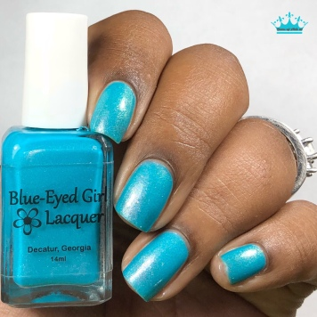 Blue-Eyed Girl Lacquer - Welcome to the Coast - w/ glossy tc