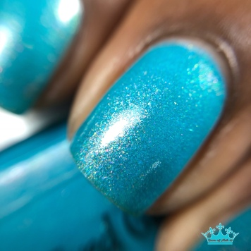 Blue-Eyed Girl Lacquer - Welcome to the Coast - macro