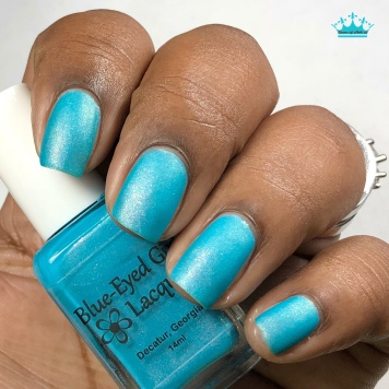Blue-Eyed Girl Lacquer - Welcome to the Coast - w/ matte tc
