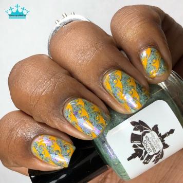LynB Designs - Your Cow Plant or Mine - w/ nail art