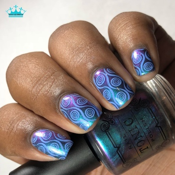 Bliss - w/ nail art