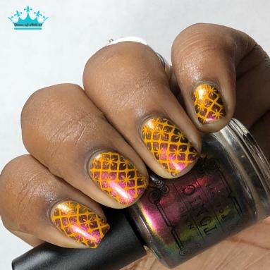Fleurescent - w/ nail art