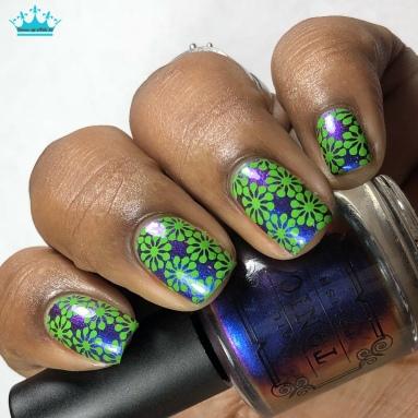 Cool Kinda Sexy - w/ nail art