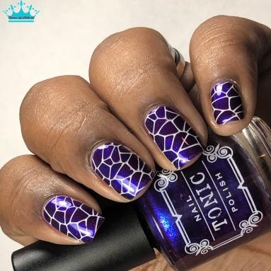 Indiglo - w/ nail art