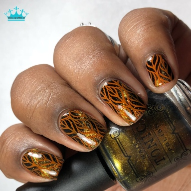Here Comes the Sun - w/ nail art