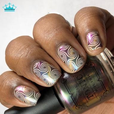 Jubilee - w/ nail art