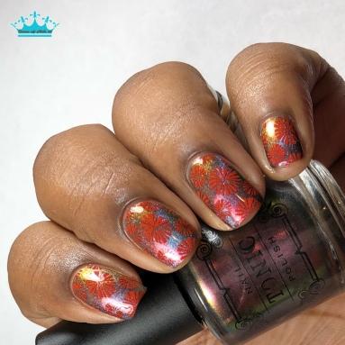 Lips - w/ nail art
