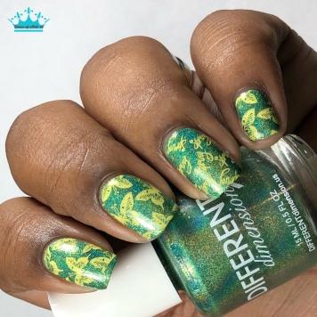 May 2018 - w/ nail art