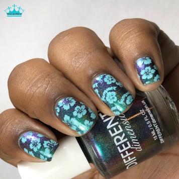 June 2018 - w/ nail art