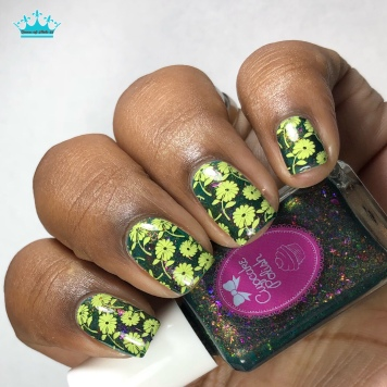 Succulent - w/ nail art
