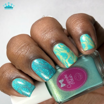 Desert Bloom - w/ nail art