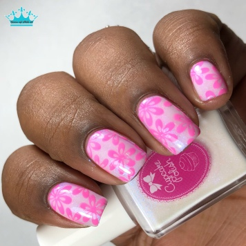 Prickly Pear - w/ nail art