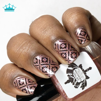 Shimmer Me This - w/ nail art