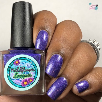"Wildflower Lacquer - ""Moments & Memories"" - w/ glossy tc"