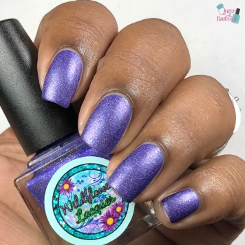 "Wildflower Lacquer - ""Moments & Memories"" - w/ matte tc"