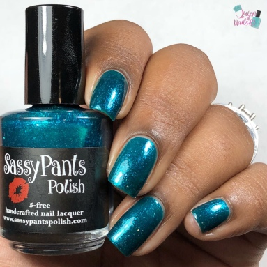 "Sassy Pants Polish - ""Love Remembered"" - w/ glossy tc"