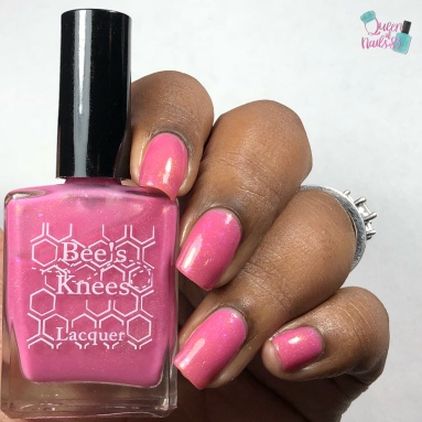 """Bee's Knees Lacquer - """"Always Remember Those Who Cannot"""" - w/ glossy tc"""