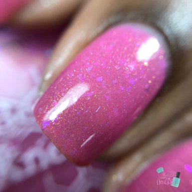 """Bee's Knees Lacquer - """"Always Remember Those Who Cannot"""" - macro"""