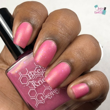 """Bee's Knees Lacquer - """"Always Remember Those Who Cannot"""" - w/ matte tc"""