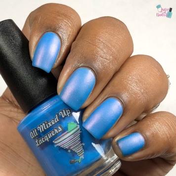 Electric Smurf - w/ matte tc