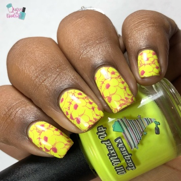 Citrus Dream - w/ nail art
