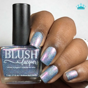 Blush Lacquers - Ride The Wave - w/ glossy tc