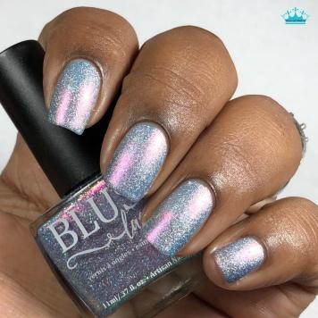Blush Lacquers - Ride The Wave - w/ matte tc