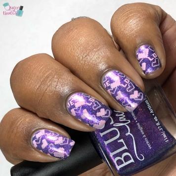 Captivate - w/ nail art