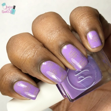 Thirty & Flirty - w/ nail art