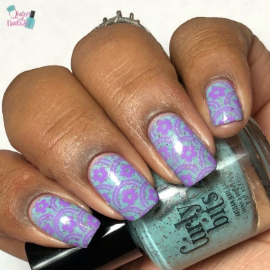 She's a Lady - w/ nail art