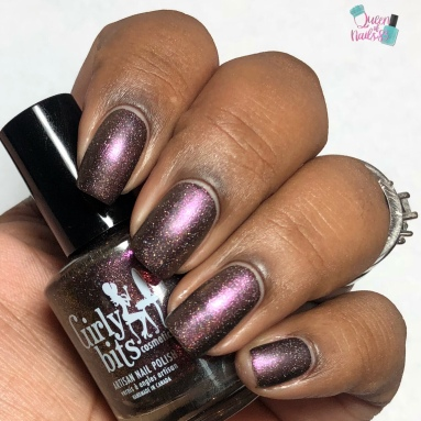 Very Important Polish (VIP Bag polish) - w/ matte tc