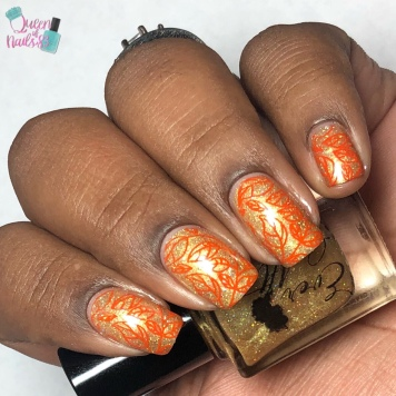 The Greatest Show - w/ nail art