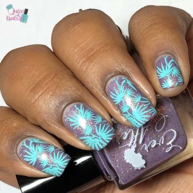 Rewrite The Stars - w/ nail art
