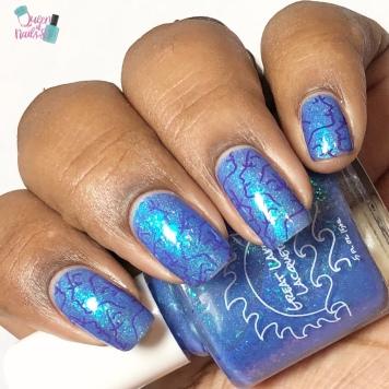 Moonlit - w/ nail art