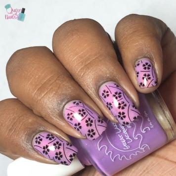 Fading Day - w/ nail art
