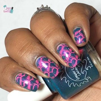 Central Park Shenanigans - w/ nail art
