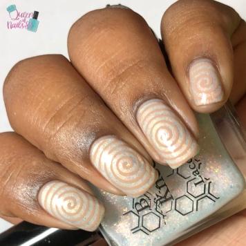 Opal Minded - w/ nail art